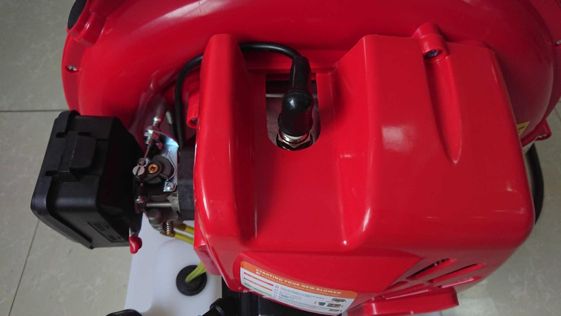 Two stroke backpack wind and water fire-extinguisher 6