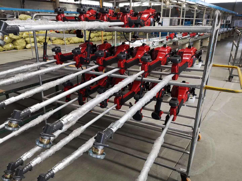 側挂式割灌機帶CE和歐V排放認証 2