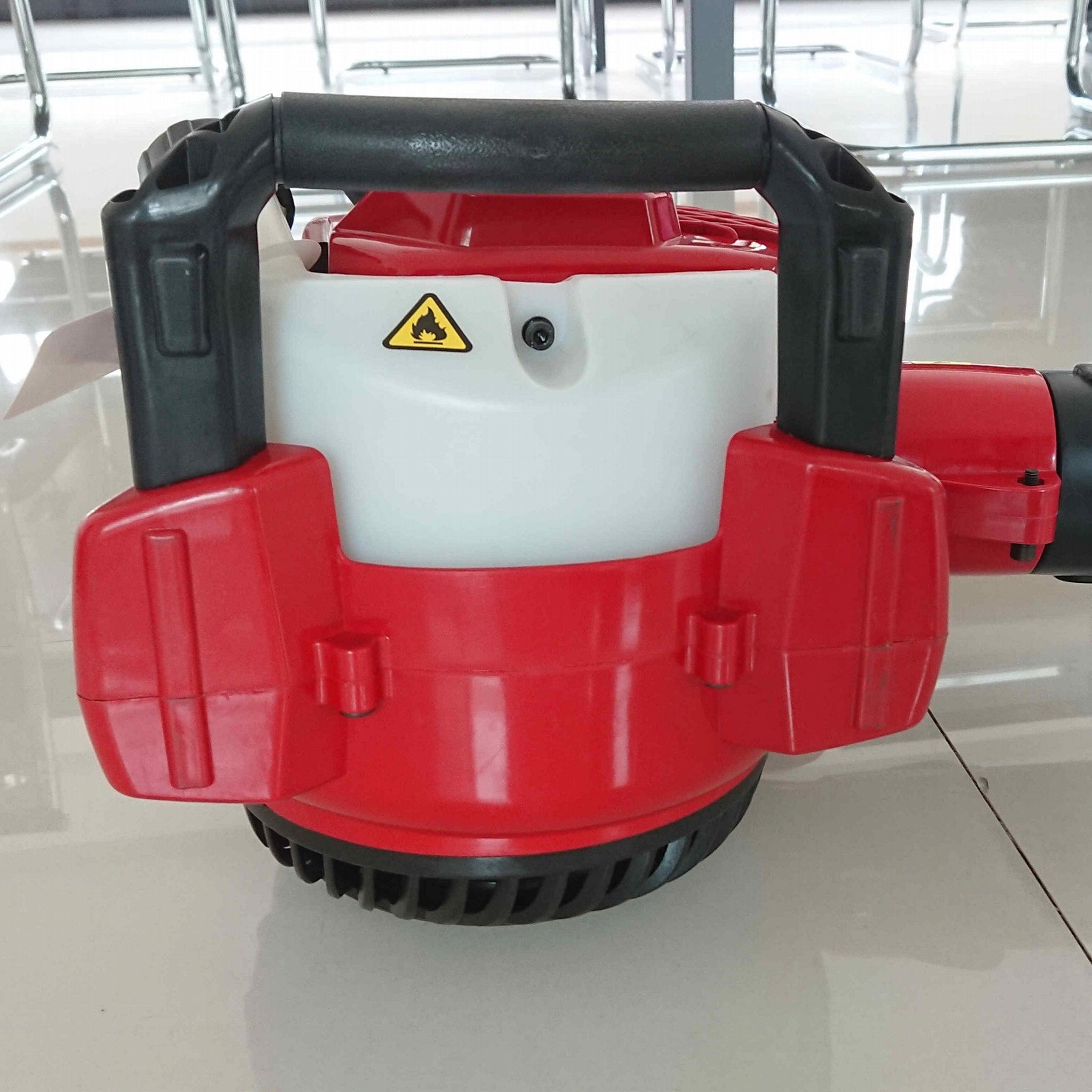 Hand-held 2-stroke engine blower with CE & Euro V emission standard 6