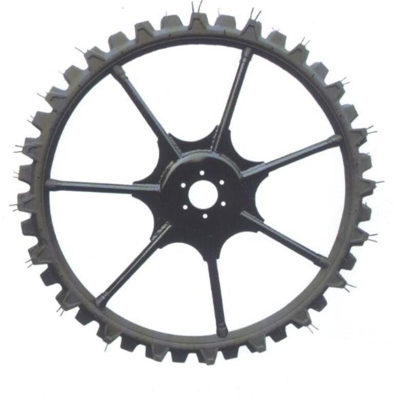 High ground gap spray parts rubber wheel 10