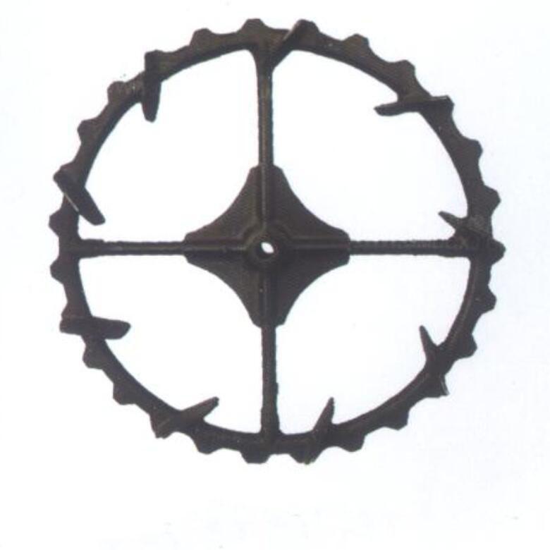 High ground gap spray parts rubber wheel 12