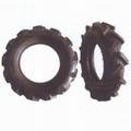 High ground gap spray parts rubber wheel 15