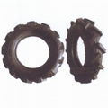 High ground gap spray parts rubber wheel