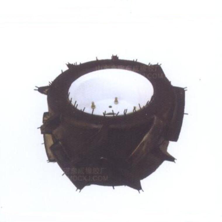 High ground gap spray parts rubber wheel 20