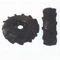 High ground gap spray parts rubber wheel 9