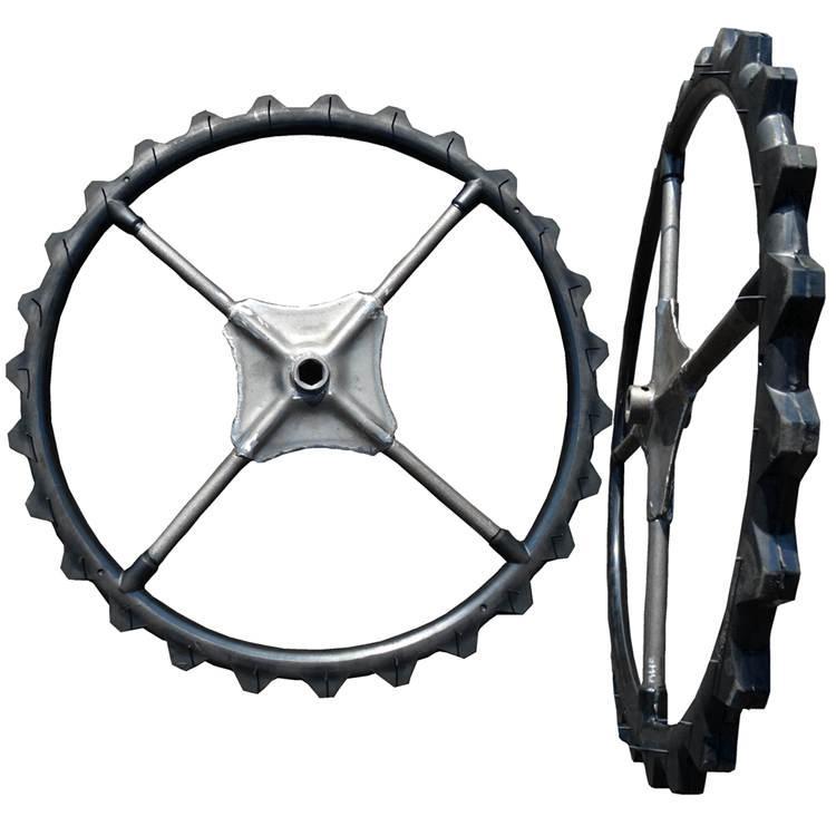 High ground gap spray parts rubber wheel 6