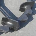 High ground gap spray parts rubber wheel 8
