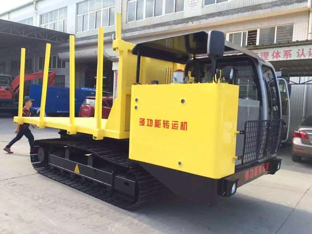 Multi-function wood truck transporter 3