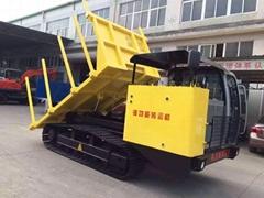 Multi-function wood truck transporter