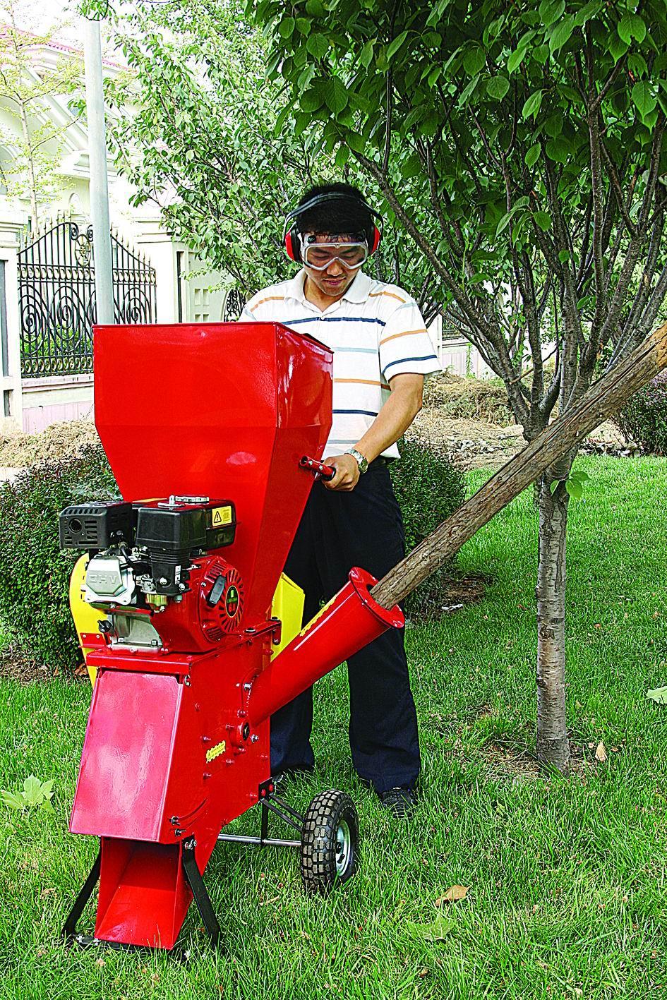 樹枝粉碎機 4