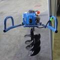 Hand drilling, small pit digger wheelbarrow drill  labor-saving drill 3