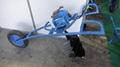 Hand drilling, small pit digger wheelbarrow drill  labor-saving drill