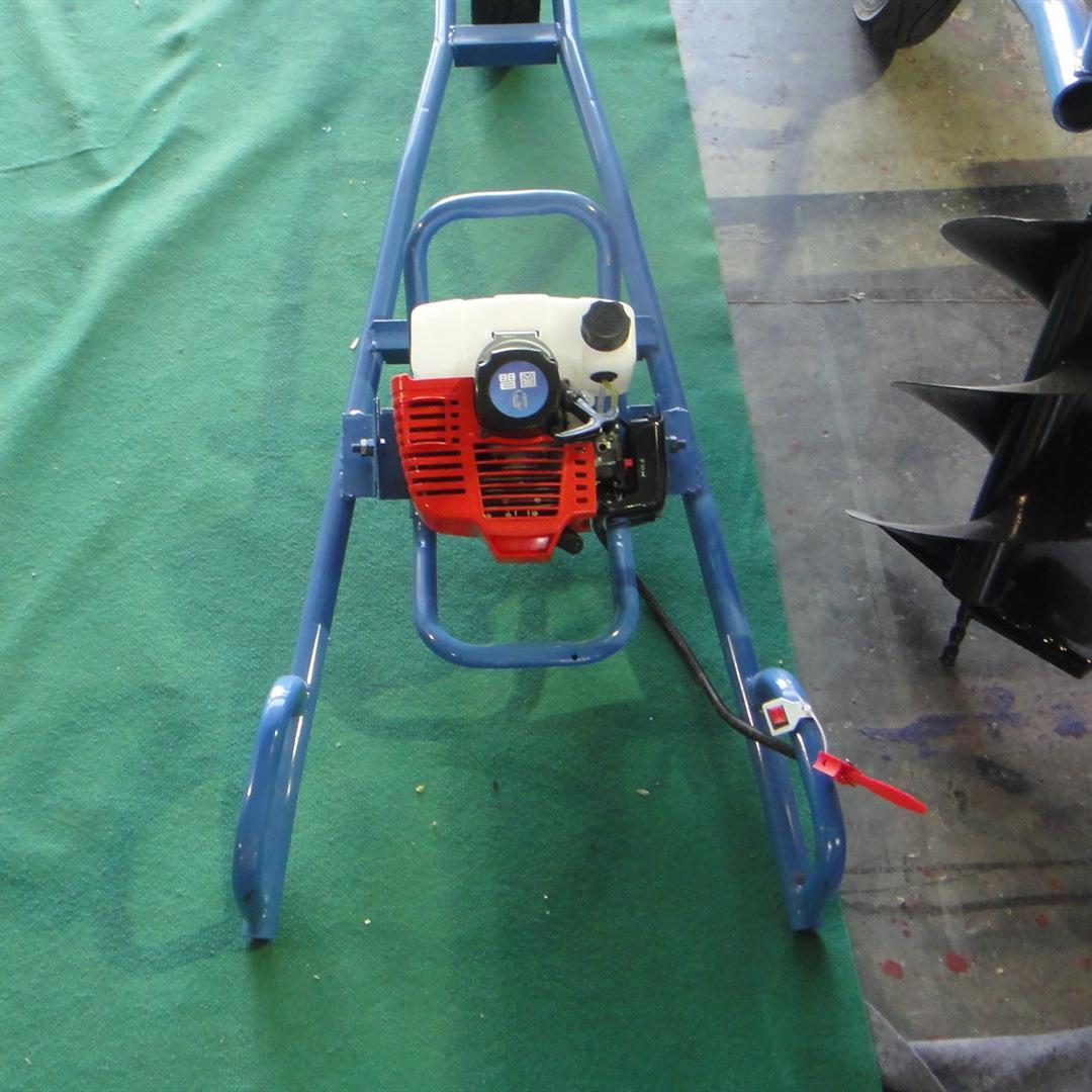 专用手推车式地钻机 小型挖坑机 5