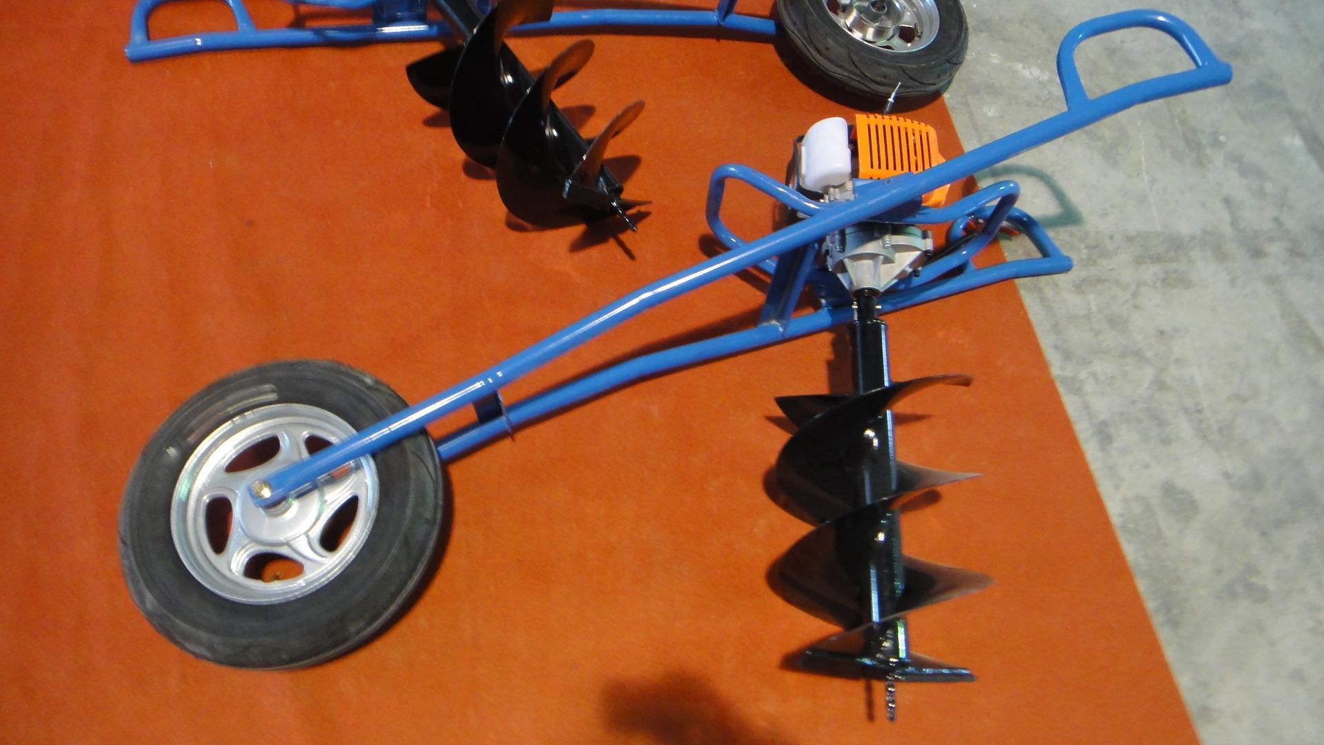 Hand drilling, small pit digger wheelbarrow drill  labor-saving drill 6