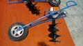 专用手推车式地钻机 小型挖坑机 6