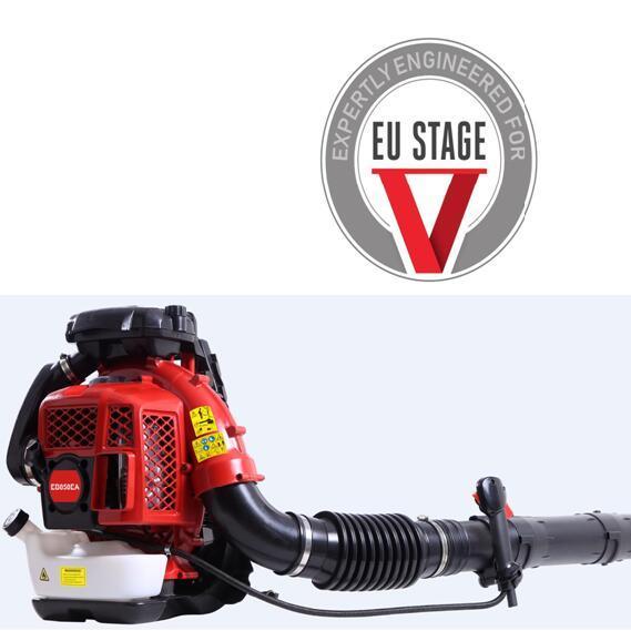 large wind Euro V 2-stroke air-cooled backpack engine blower 1