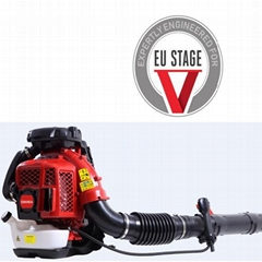 large wind Euro V 2-stroke air-cooled backpack engine blower