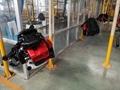 large wind Euro V 2-stroke air-cooled backpack engine blower 4