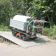 Mini crawler remote control truck dumper sprayer