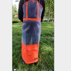 厂家直销出口外贸批发割草割灌园林机械作业防护专用围裙
