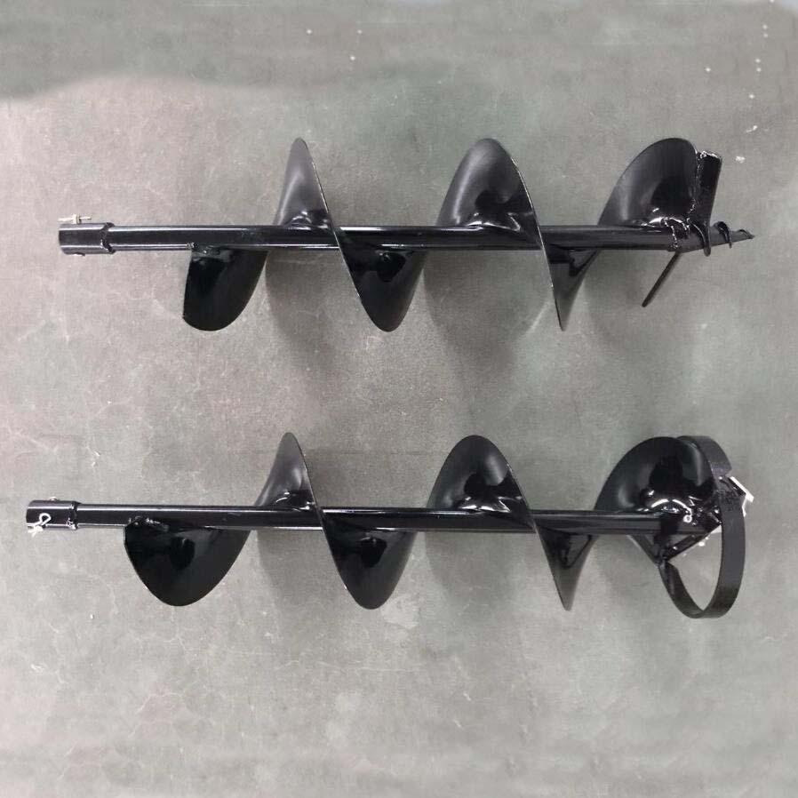 園林種植專用打洞機 高效率松土施肥器 螺旋杆鑽頭移栽機 7
