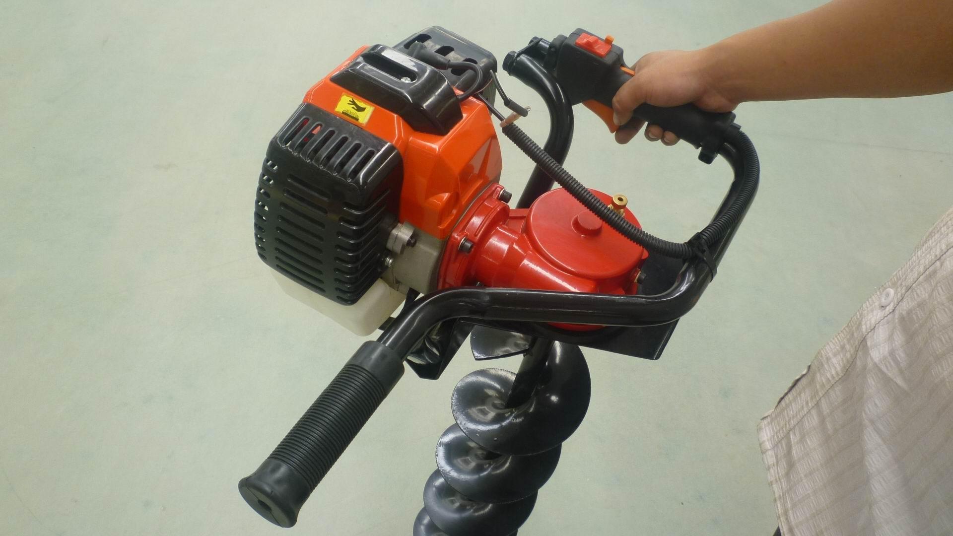 园林种植专用打洞机 高效率松土施肥器 螺旋杆钻头移栽机 10