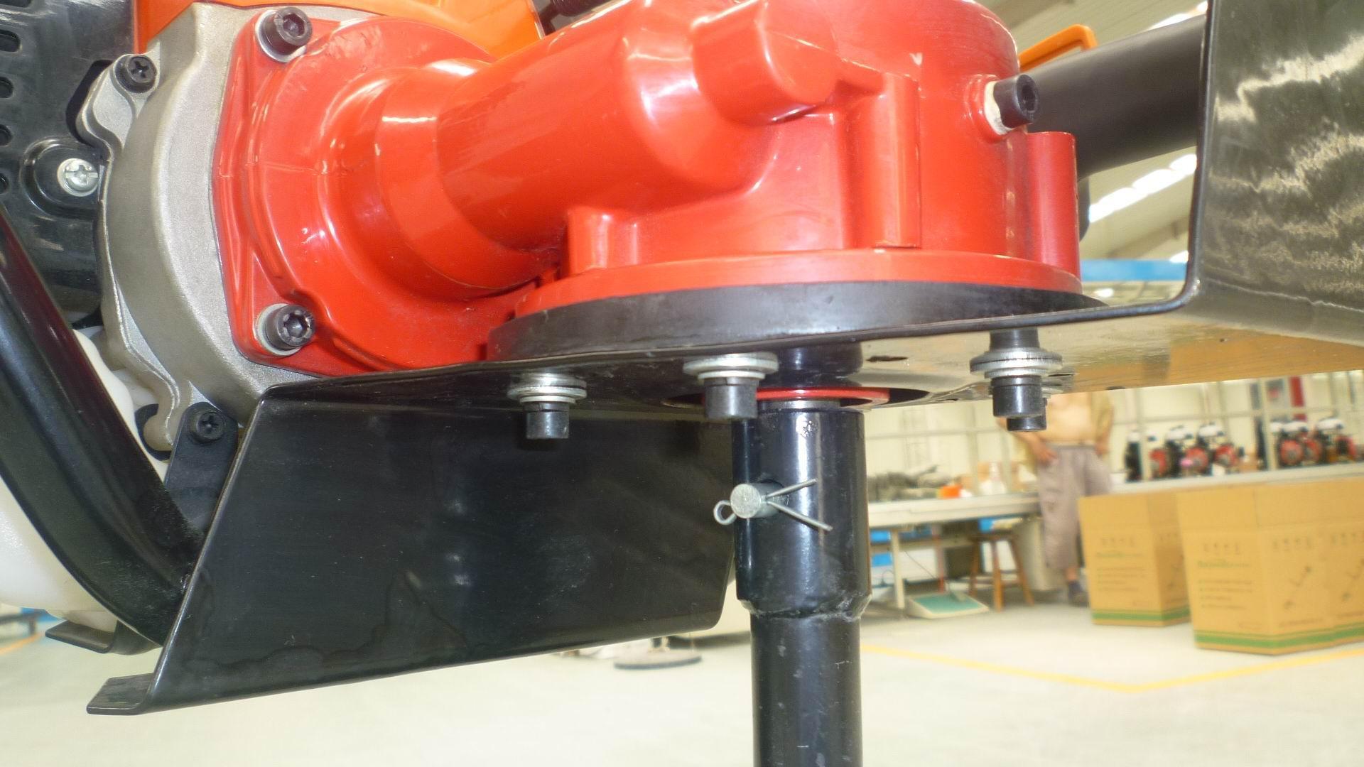 園林種植專用打洞機 高效率松土施肥器 螺旋杆鑽頭移栽機 12