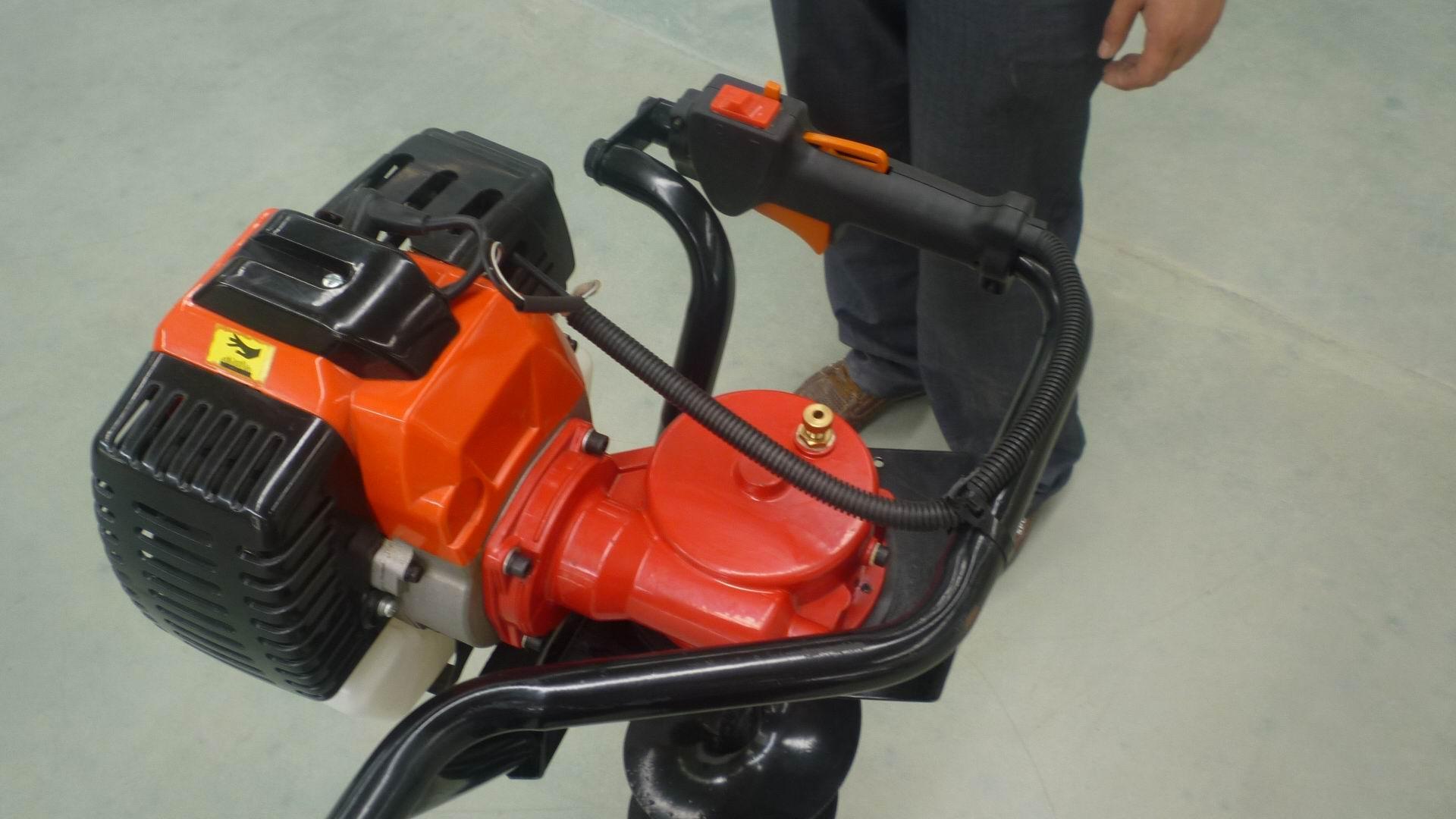園林種植專用打洞機 高效率松土施肥器 螺旋杆鑽頭移栽機 13