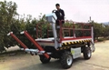 Crawler type dumper with lift container   Stepless speed change Scissor lifter 6