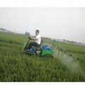High clearance boom sprayer