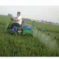 High ground clearance Self-propelled spray150L boom sprayer   3