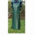 割草割灌园林作业防护墨绿色围裙