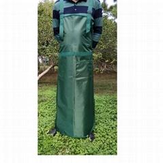 割草割灌園林作業防護墨綠色圍裙