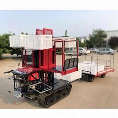 厂家直销园林收货修剪液压履带搬运车自走式果园套袋采摘升降平台