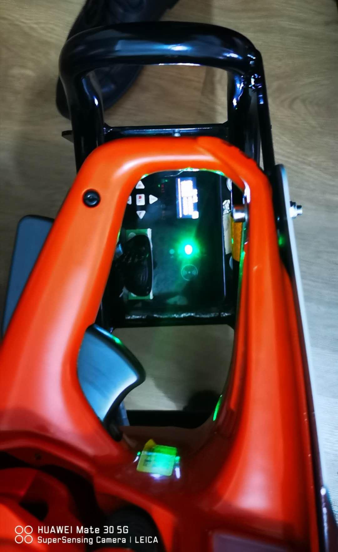 Railway maintenance Torque adjustable internal combustion bolt wrench NLB-1200 5