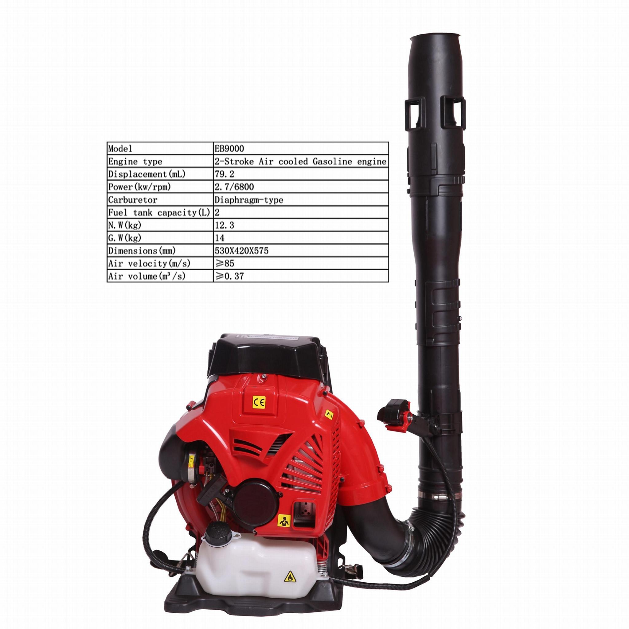 Large wind Two-stroke backpack engine blower garden leaf blower Workshop Sweeper 2