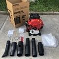 Large wind Two-stroke backpack engine blower garden leaf blower Workshop Sweeper 4
