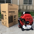 Large wind Two-stroke backpack engine blower garden leaf blower Workshop Sweeper 7