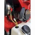 Large wind Two-stroke backpack engine blower garden leaf blower Workshop Sweeper 11
