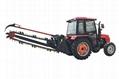 農用拖拉機帶動開溝回填機 4