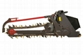 Large chain trencher and back filling Grooving machine  9