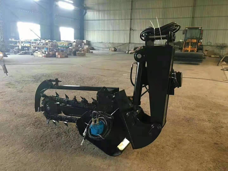 农用拖拉机带动开沟回填机 8