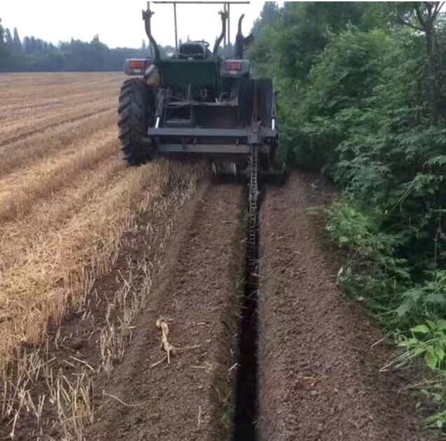 農用拖拉機帶動開溝回填機 7