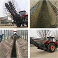 农用拖拉机带动开沟回填机 10