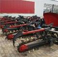 农用拖拉机带动开沟回填机 12