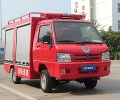 鉛酸蓄電池巡邏車 電動(四輪)消防車公園工業園小型消防車