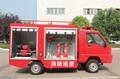 鉛酸蓄電池巡邏車 電動(四輪)消防車公園工業園小型消防車 2