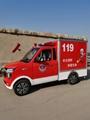 电动消防车,单排双排座椅巡逻消防车 3