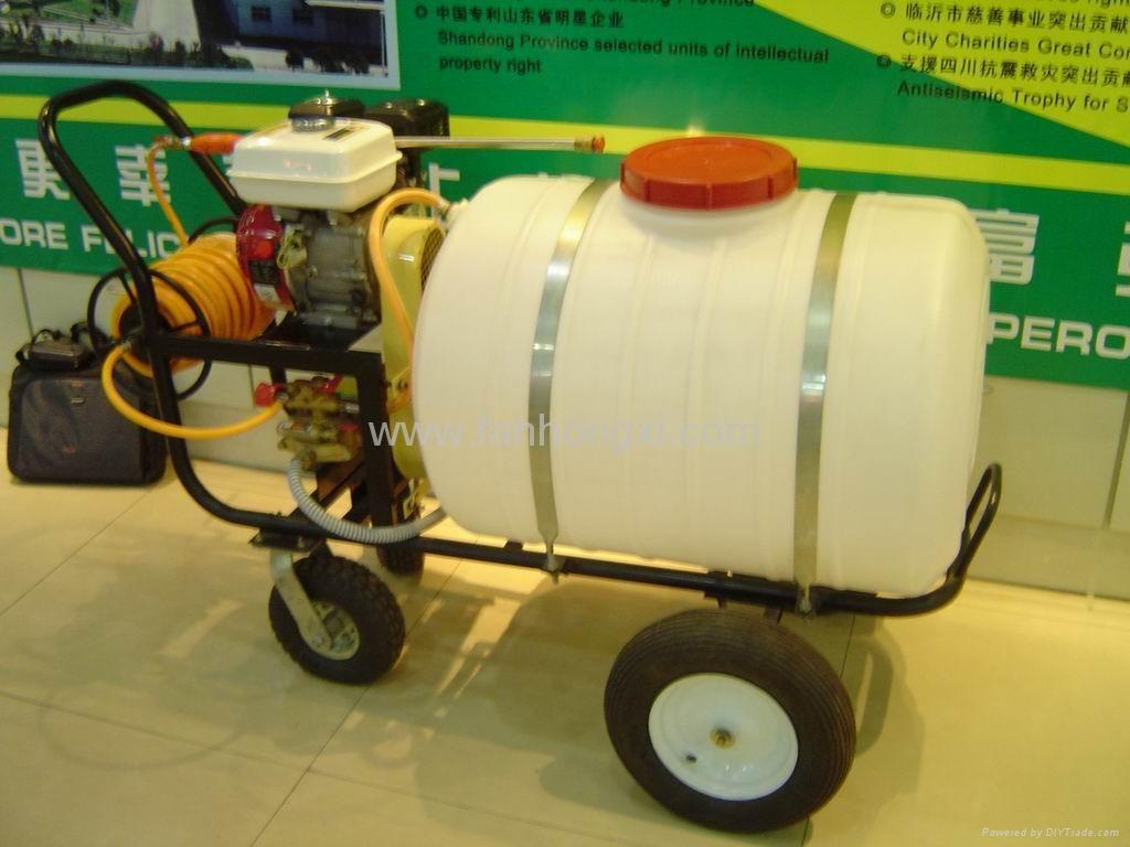 高压动力推车式喷雾机 WSJ-200LC 2
