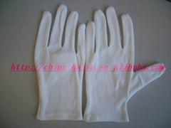 100% cotton gloves